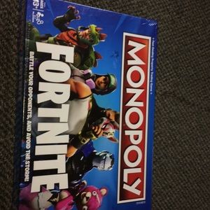 Fort nite monopoly brand new never used